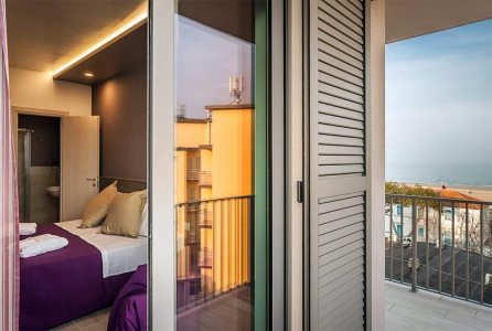 dettagli camere hotel Gioia rimini 3 stelle sup