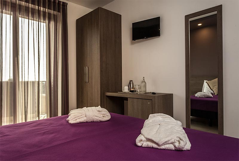 Camere hotel Gioia